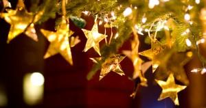 Karácsonyi arany díszek