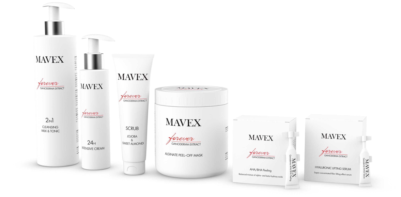 Mavex Forever termékskála
