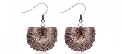 earrings basics beige