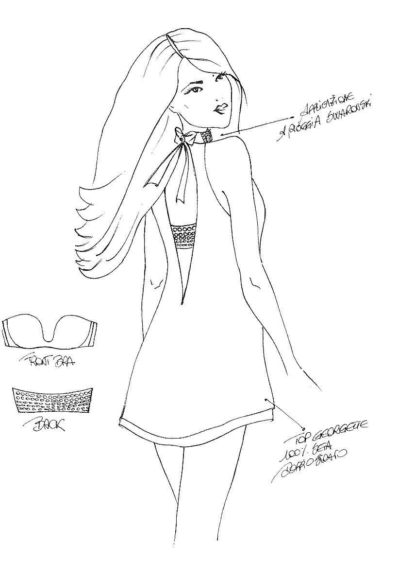 swarovski bra sketch