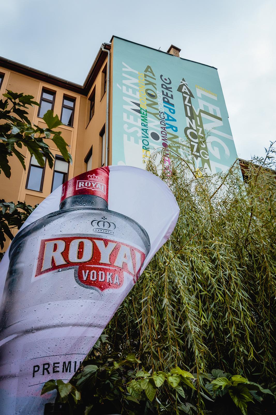 Kazinczy utca Színes Város falfestés