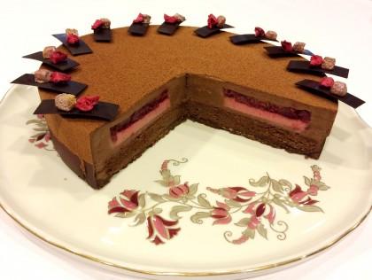 zsolnay-ludlab egész torta