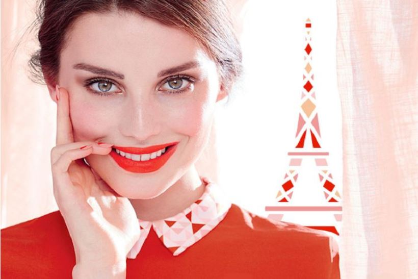 bourjois-poppy-chic-model