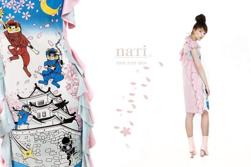 NATI 100% PURE IDEA Sakura kollekció