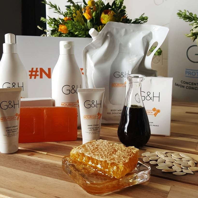 Amway Nourish products