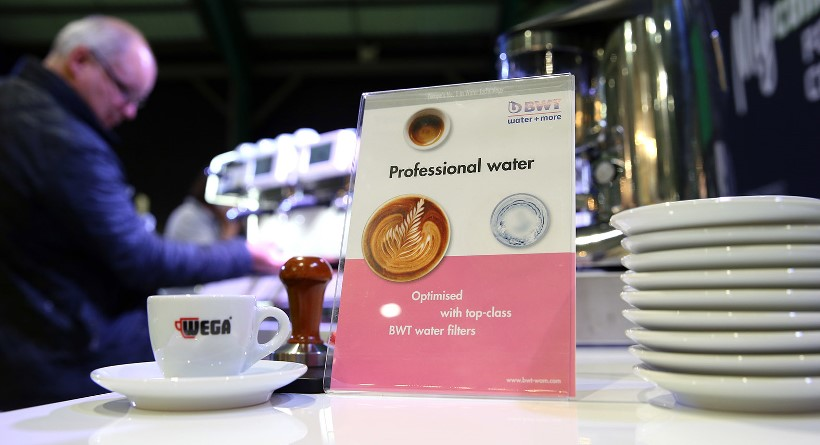 BWT water+more a 2017-es budapesti World of Coffee szponzora
