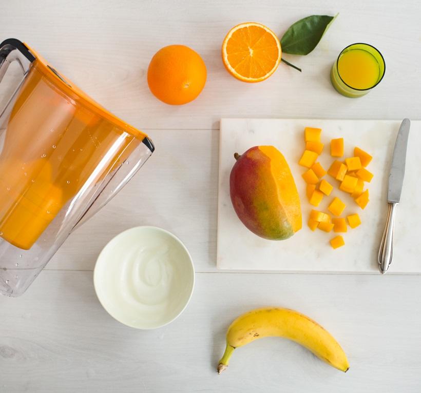 BWT_Smoothies_Narancs smoothie banánnal és mangóval