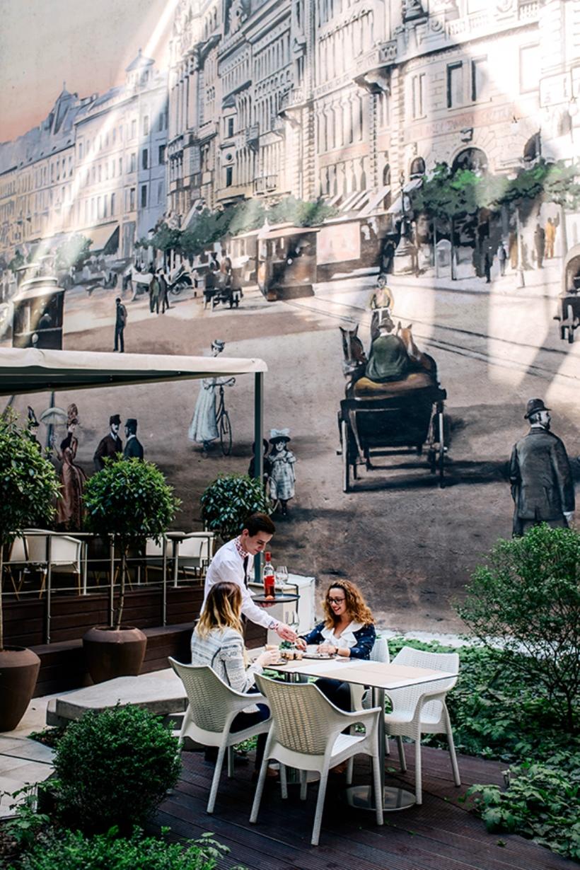 Continental Hotel Budapest Araz Étterem terasz