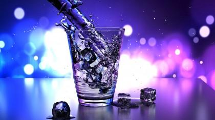 pohár víz