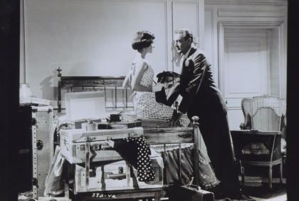 Audrey Hepburn és Gary Cooper a Délutáni szerelem című filmben @ Archives Ritz