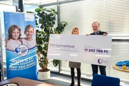 Orbit SOS gyermekfalvak kampány