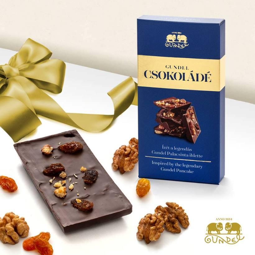 Gundel csokoládé ajándékba