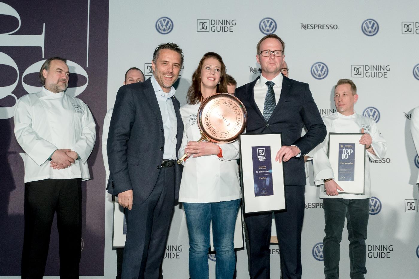 Az év étterme díj - Costes - Palágyi Eszter