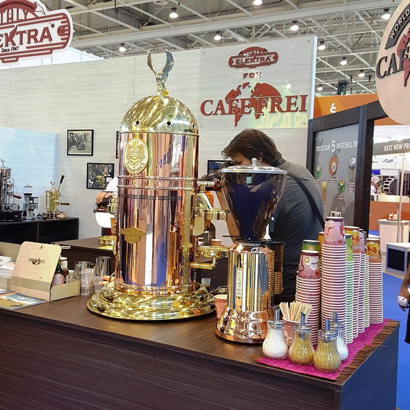 World of Coffee Caféfrei stand