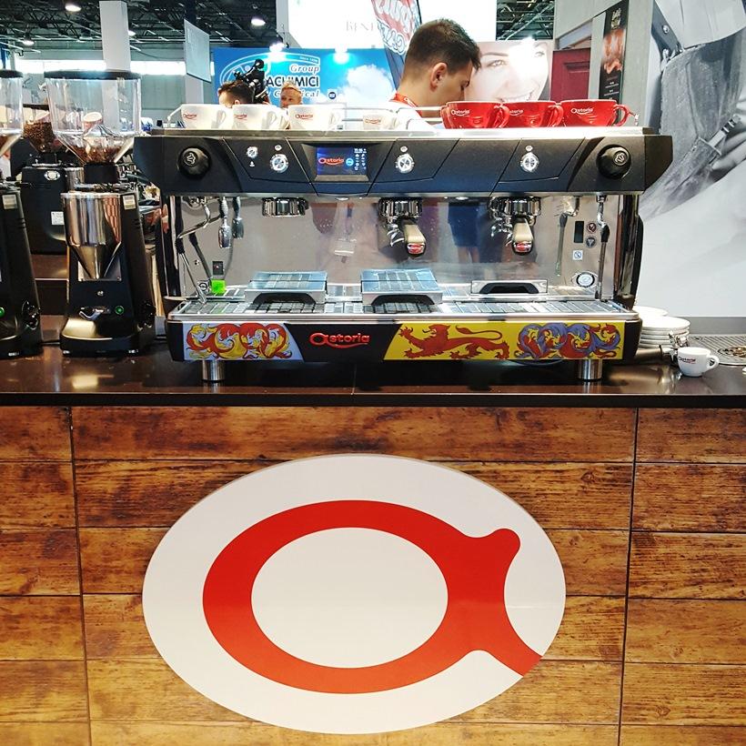 World of Coffee astoria stand