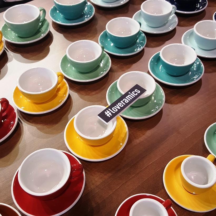 World of Coffee Loveceramics stand