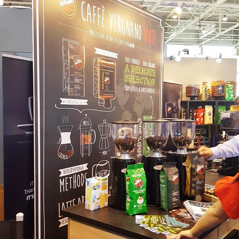 World of Coffee Caffé Vergnano
