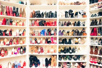 cipőgardrób