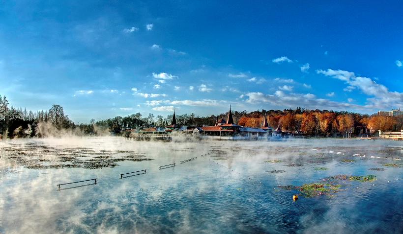 hévíz termál tó