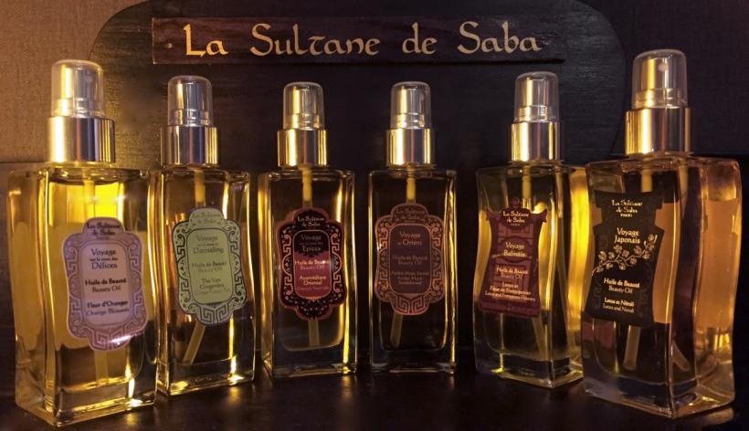 La Sultane de Saba Szépségolajok