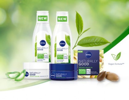 Nivea Naturally Good nyitó