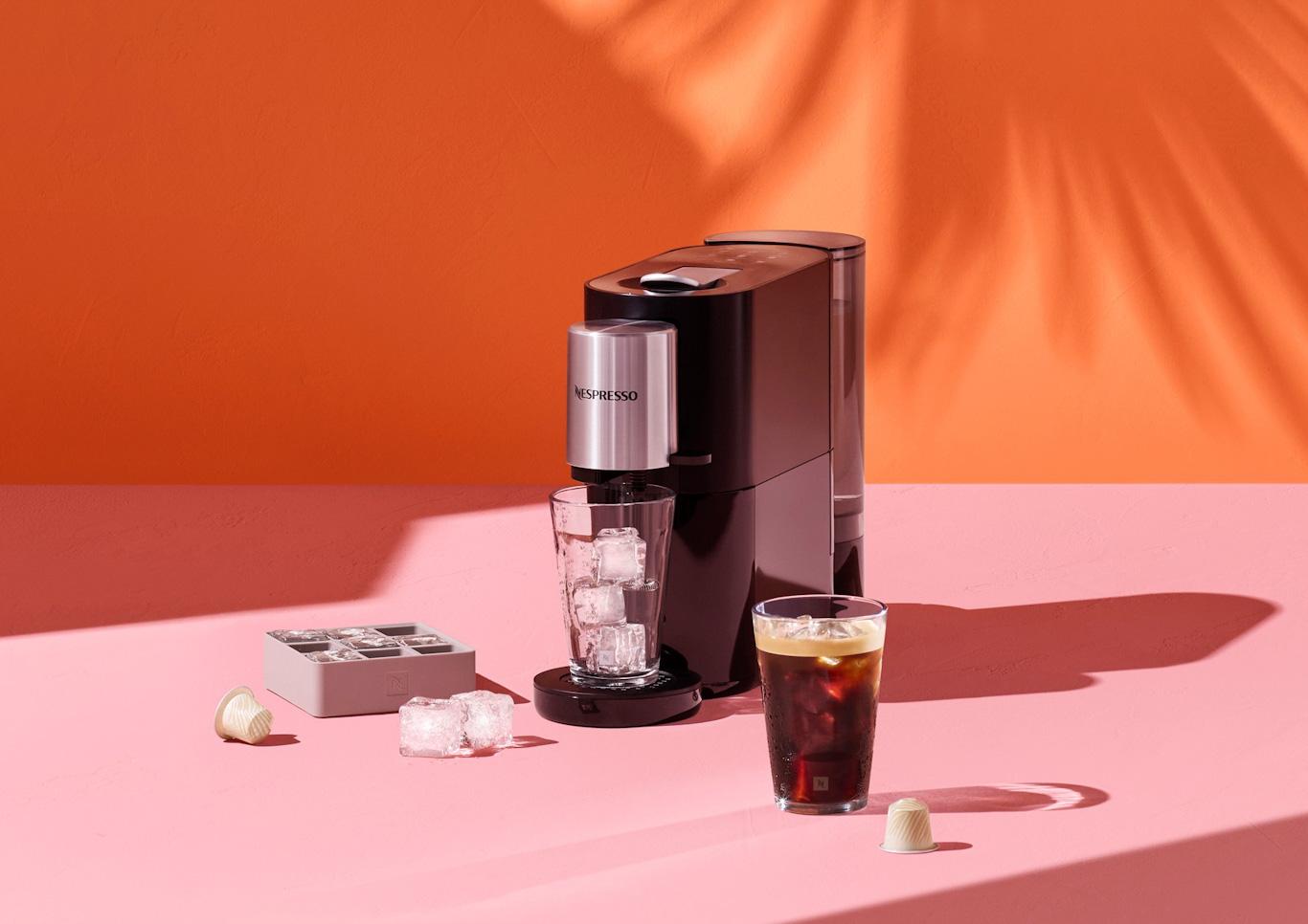 Nespresso Atelier kávégép jegeskávéval_edited