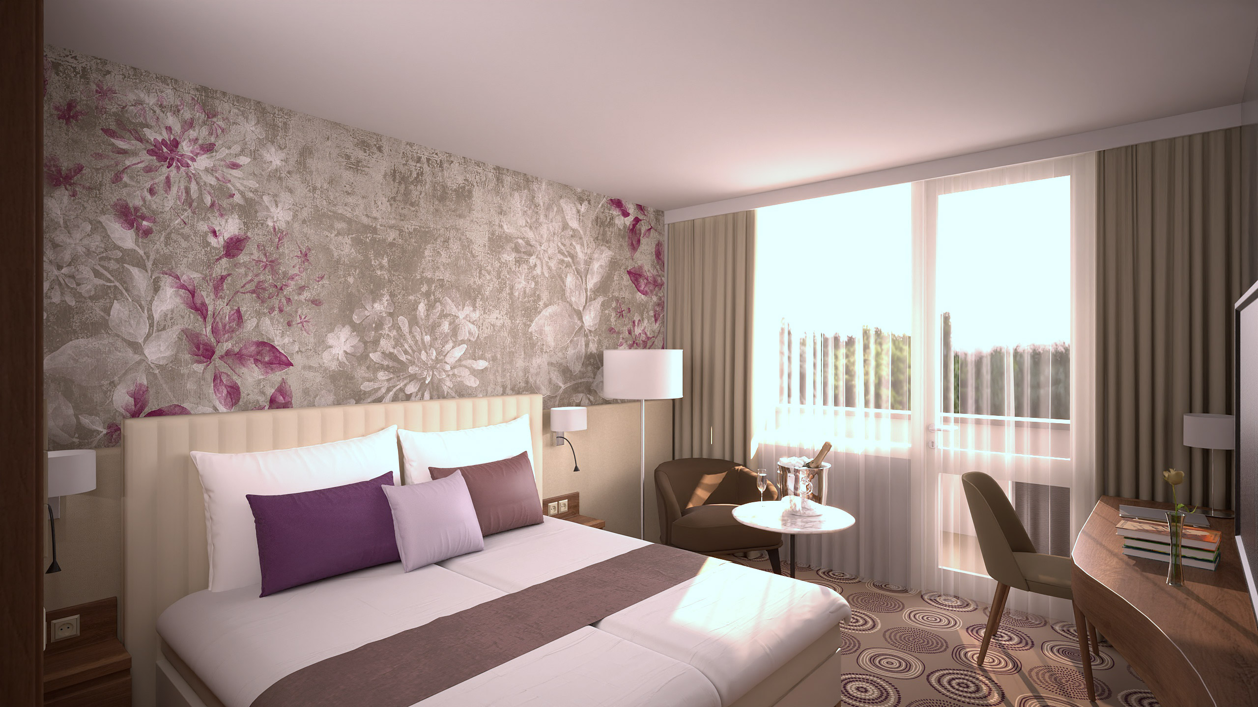 NaturMed Hotel Carbona Deluxe szoba