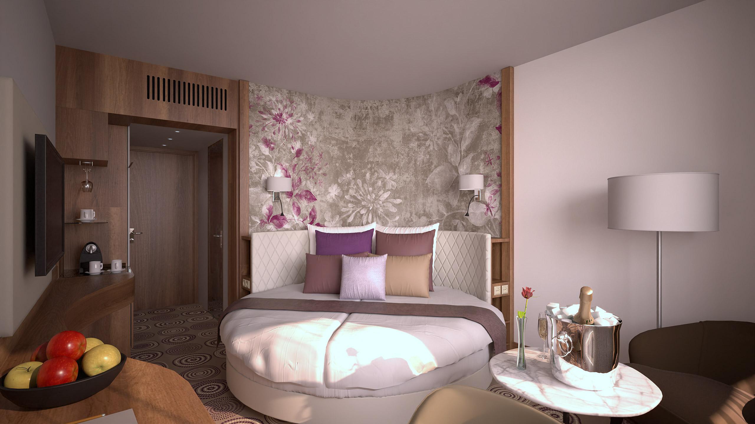 NaturMed Hotel Carbona Oriental szoba